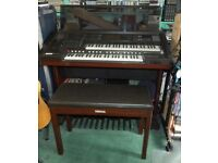 Yamaha El-90 electric organ in need of repair