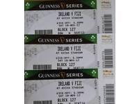 3x Ireland Fiji Tickets -SOLD