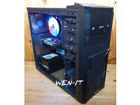 Desktop PC: Intel i7 2600K - 8GB RAM - Nvidia GTX 750 TI - 1TB HDD - Windows 10 Pro