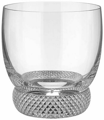 Villeroy & Boch -Crystal Whisky Glass Octavie Old Fashioned Single/Set of 2 or 4 Single Old Fashioned
