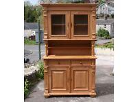 Solid Pine Dresser Sideboard Cupboard