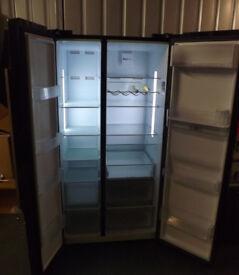 BEKO ASD241B American Fridge Freezer Black With Water Dispenser
