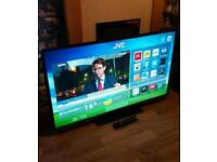"JVC 50"" SMART LED HD TV FREEVIEW WIFI NETFLIX ETC"