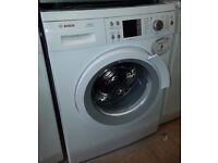 Bosch 8kg load 1400 spin washing machine A+ energy rated