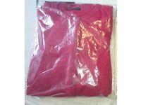School red cardigans packs of 2