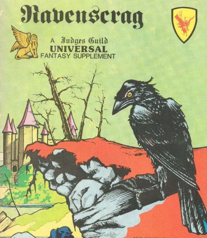 Ravenscrag Complete wMaps, Judges Guild, D&D, TSR, 3,000+ Pages of MegaExtras!!