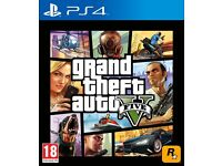 **WANTED** Grand Theft Auto 5 - PS4 - Willing to Trade .. See Info