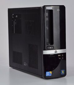 WINDOWS 7 HP PRO 3130 INTEL i3 3.20 DUAL CORE SFF PC COMPUTER - 4GB RAM - 320GB