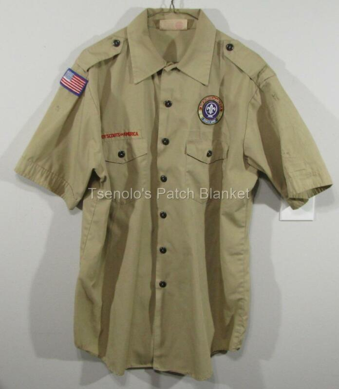 Boy Scout now Scouts BSA Uniform Shirt Size Adult Large SS FREE SHIPPING 088
