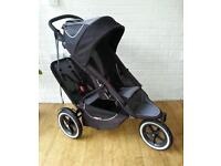 Phil and ted double buggy .buggy . Pushchair. Stroller