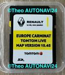 ✅ Renault Carminat live SD TomTom Update Europa 2020-2021