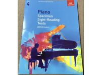 New ABRSM Grade 4 Piano Specimen Sight-Reading Tests