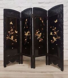 Oriental Folding Screen (DELIVERY AVAILABLE)