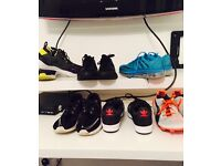 Mixed lot of trainers for sale