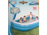 Brand new inflatable swimming pool