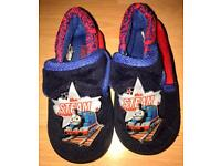 Thomas the Tank Engine slippers size 8