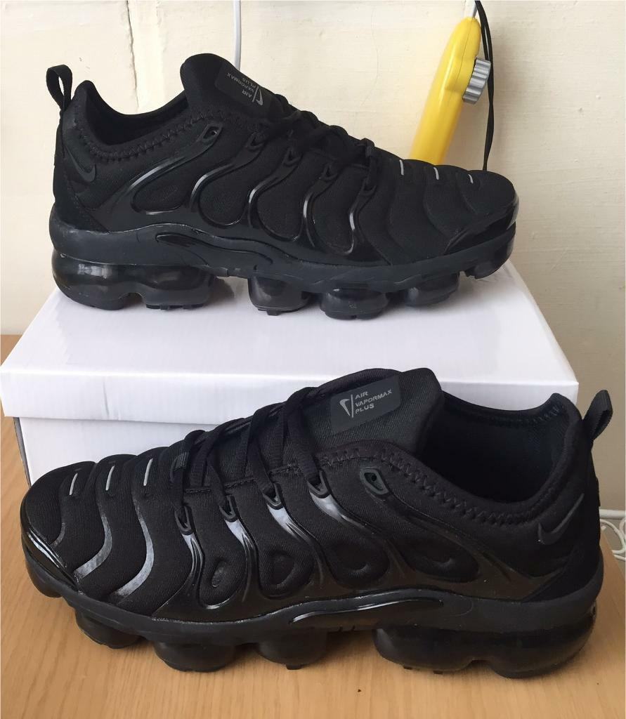 official photos 47eb6 4fce3 BRAND NEW NIKE AIR VAPORMAX PLUS ALL BLACK | in Sandwell, West Midlands |  Gumtree