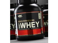 ** Optimum Nutrition ON Gold Standard 100% Whey Protein Powder (2.27 kg, Double Rich Chocolate) **