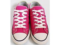 Women's Size 5 Superdry Trainers - Pink