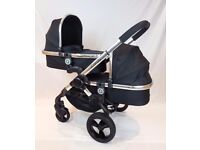 Icandy Peach 2016** Blossom Double/Twin - Still Under Warranty Everything Incl 2 X Maxi Cosi Seats
