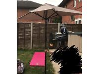 Rectangle shape garden parasol