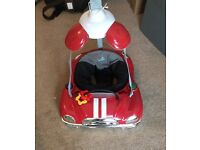 Baby bouncer (red mini) £22