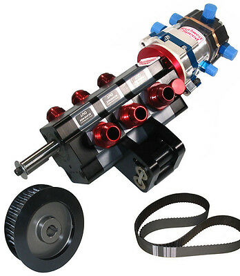 KSE TANDEM X DIRECT DRIVE & STOCK CAR PRODUCTS 3 STAGE DRY SUMP PUMP,PULLEY,BERT