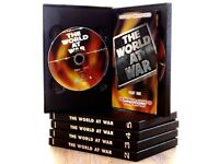 THE WORLD AT WAR BOX SET - SPECIAL COLLECTORS EDITION - NEW & UNUSED