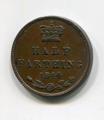 GB 1844 1/2 FARTHING