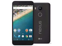 LG Nexus 5X 16GB -CARBON black Unlocked New & Sealed