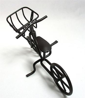 Bike Bicycle Home Table Decor Toy Metal Sculpture Desktop Art Garden Fairy B-7