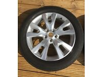 """Vauxhall Antara SE Nav 19"""" Alloy and Tyre"""