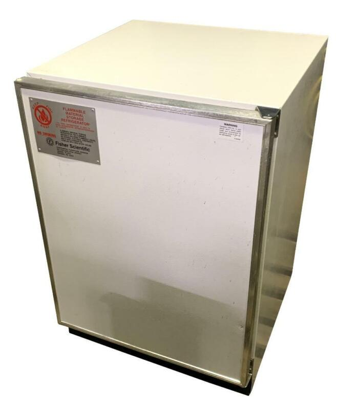 Fisher Scientific 97-938 Flammable Material Storage Refrigerator 115 VAC