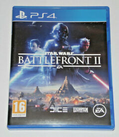 SONY PLAYSTATION PS4 GAME STAR WARS BATTLEFRONT 2 II LUCAS FILM EA DICE 16 PAL.*