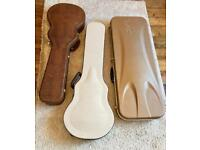 Gibson and Les Paul Electric Guitar Hard Cases - Will Sell Separately
