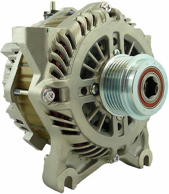 11026N - Ford/Mitsubishi - New Original Ford OEM Alternator (12Volt, 200 Amp)