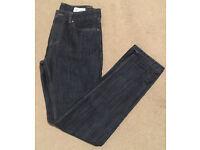 2 pairs - Mens Navy Slim Fit Jeans - 30/32