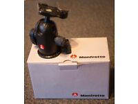 Manfrotto MIDI Ball Head 498 CR2 with Quick release plate - VG Boxed condition £45