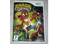 Nintendo Wii Crash Mind Over Mutant - Crash Bandicoot Game