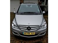 Mercedes Benz B170 2008 1.7L SE CVT 5drs *SEMI-AUTO *Panoramic Roof *MOT 23/08/18 *LOW MILEAGE