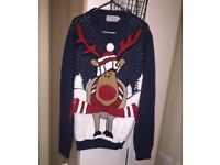 Christmas jumpers size small