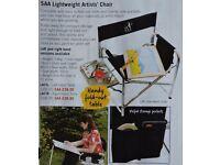 Folding Artists Chair