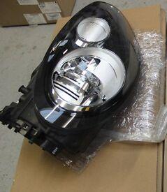 Porsche Panamera Turbo xenon headlamp OS offside genuine Porsche part