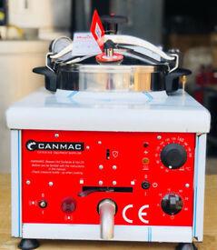 NEW CANMAC DIGITAL PRESSURE FRYER
