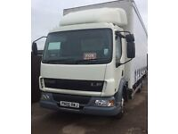 Daf lf 45 lorry all good tyres low mileage 1 owner no vat ideal export no mot £2595 Ono no vat