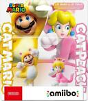 Nintendo - Double Pack: Cat Mario + Cat Peach Super Mario S