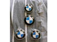 BMW Z4 indicator, bonnet and boot badges new