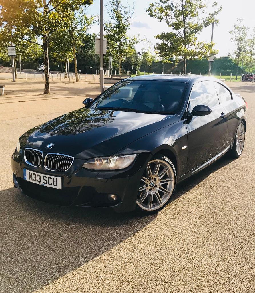 Bmw 335i M Sport: BMW 335i Coupe M Sport, IDrive, Automatic, Leathers