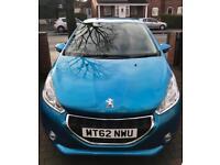 2013 Peugeot 208 1.2 Active Low Mileage Full Service History £20 Tax Long MOT (corsa Clio fiesta)