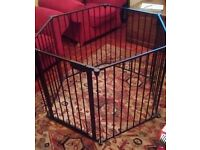 MOTHERCARE PLAYPEN WITH GATE - 'BABY DEN' - in great condition!